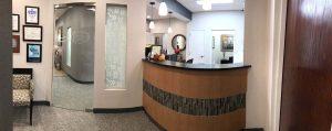 Dental Office Reception Area